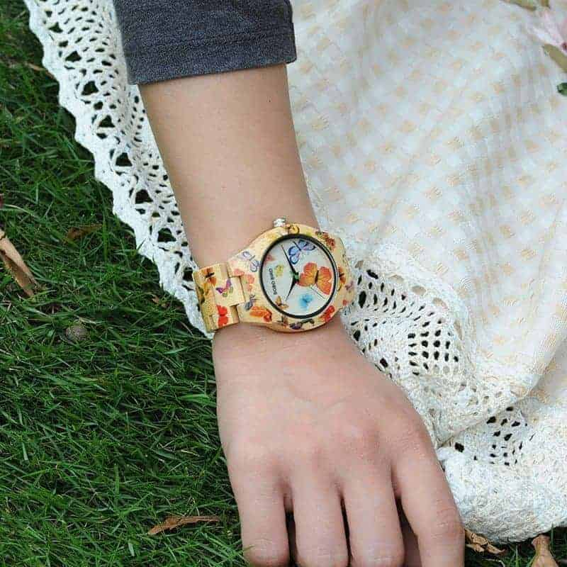 Colorful printing watch for women jpg