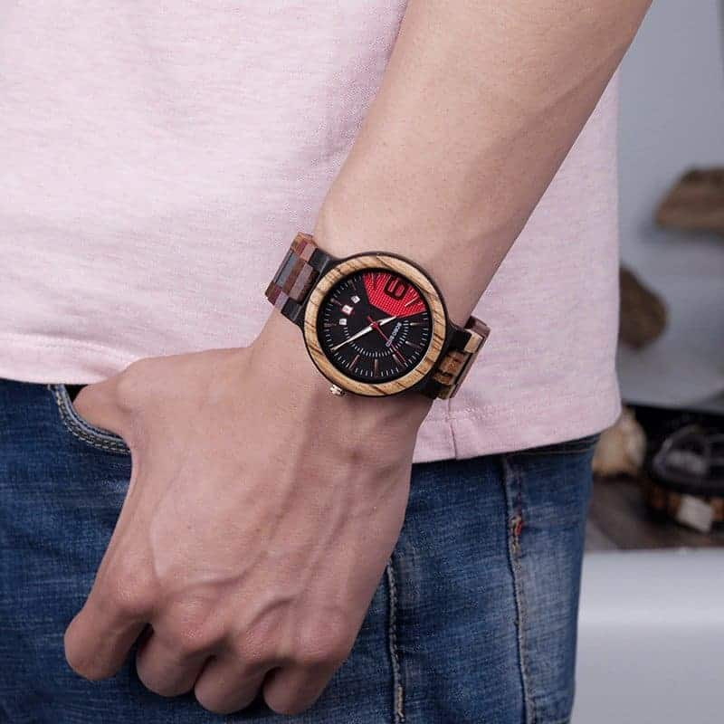 Colorful wooden watch Q13 2 jpg