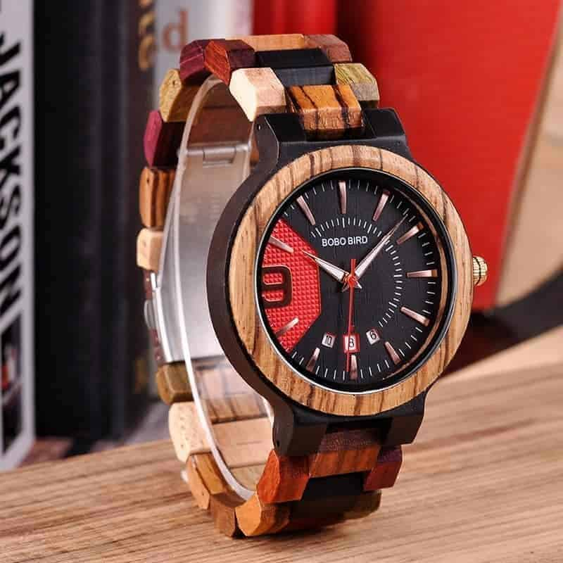 Colorful wooden watch Q13 3 jpg