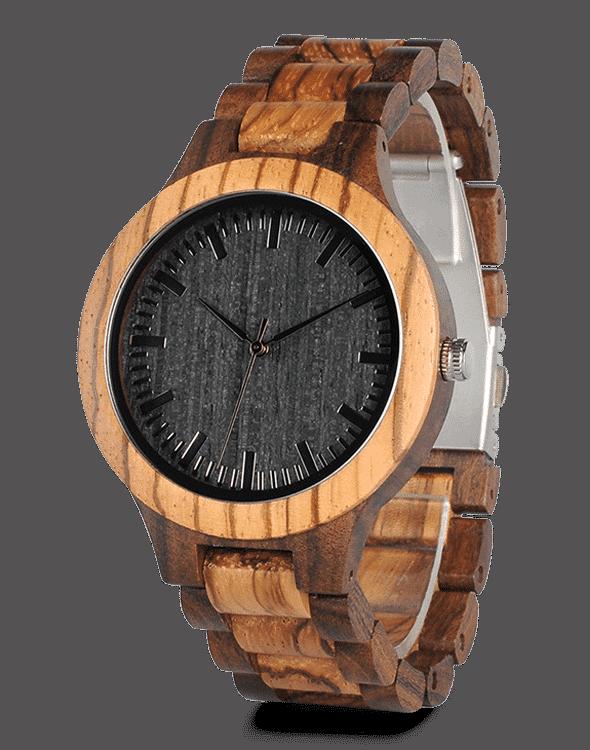 Unique Watches with Wooden Straps D30