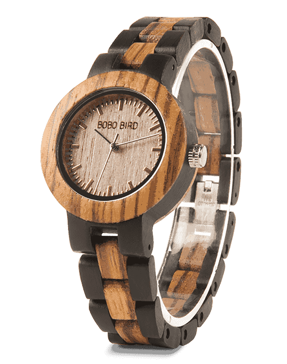 Fancy Small Ladies Wooden Watches