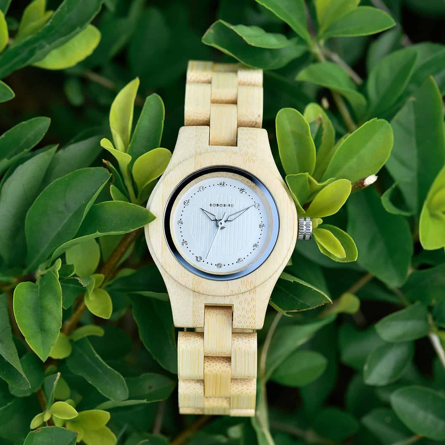 Natural Bamboo Wood Watches