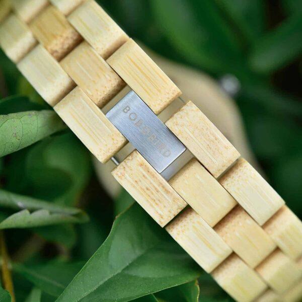 Natural Bamboo Wood Watches O10