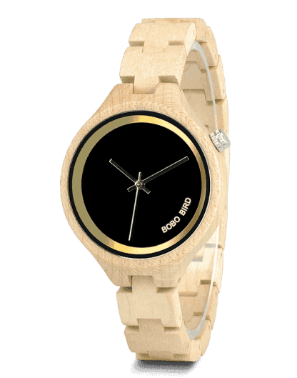 Natural Wood Watch Band Exquisite Wooden Watches P16-2