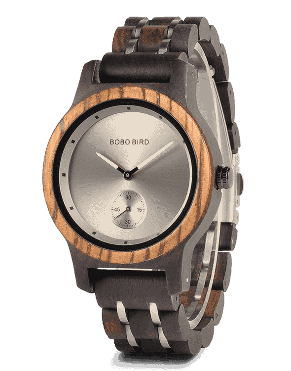 Lovers' Gifts Timepieces Luxury Metal Strap Quartz Wooden Watches Q18-3