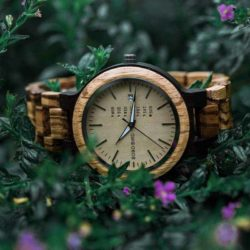 Personalized Gifts For Him BOBO BIRD Wooden Watches - Sunset O26-1