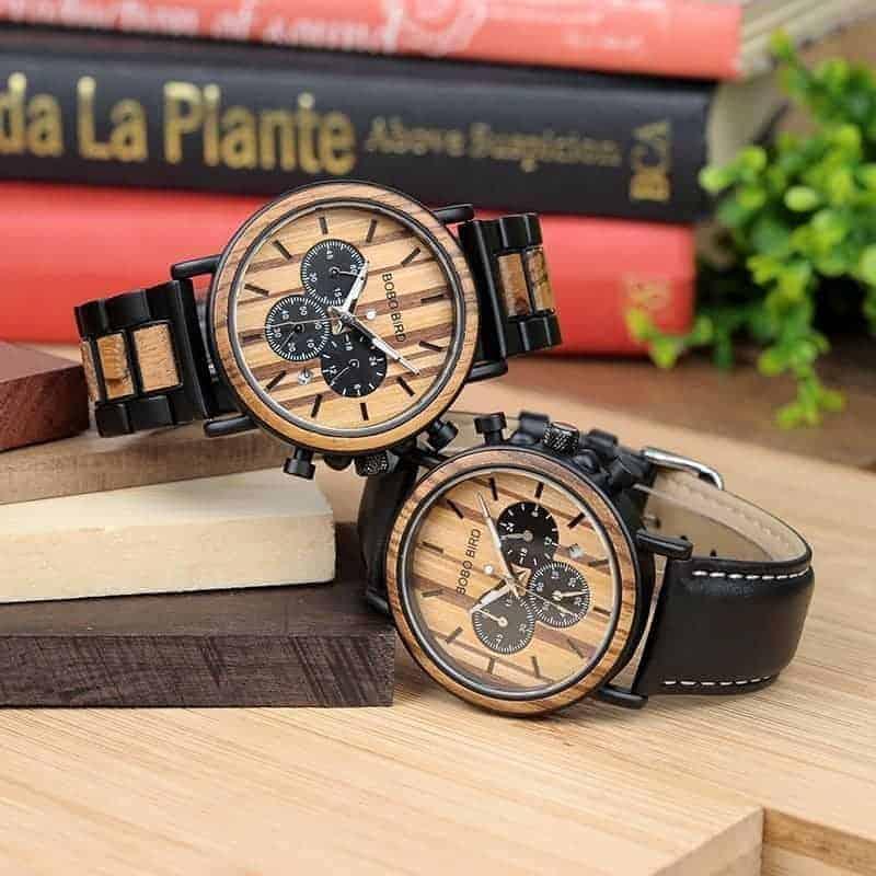 Wood metal watch P09 3 jpg