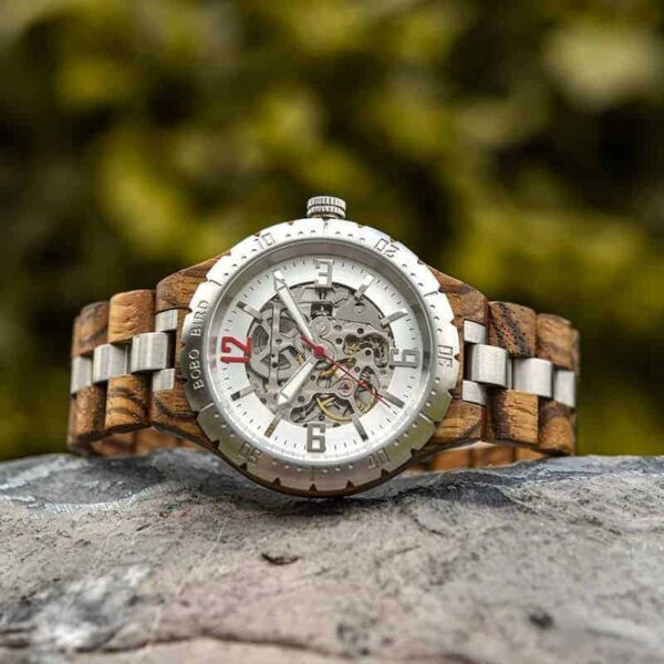 Automatic Mechanical Movement Wooden Watches Q29-2