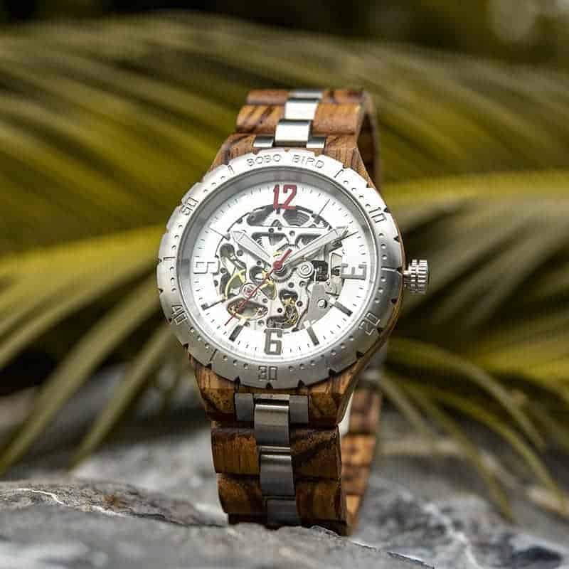 Automatic Mechanical Movement Wooden Watches Q29-2-3