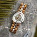 Automatic Mechanical Movement Wooden Watches Q29-2-5