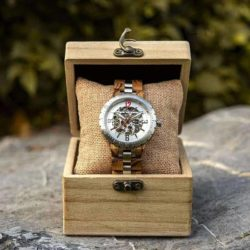 Automatic Mechanical Movement Wooden Watches Q29-2-6