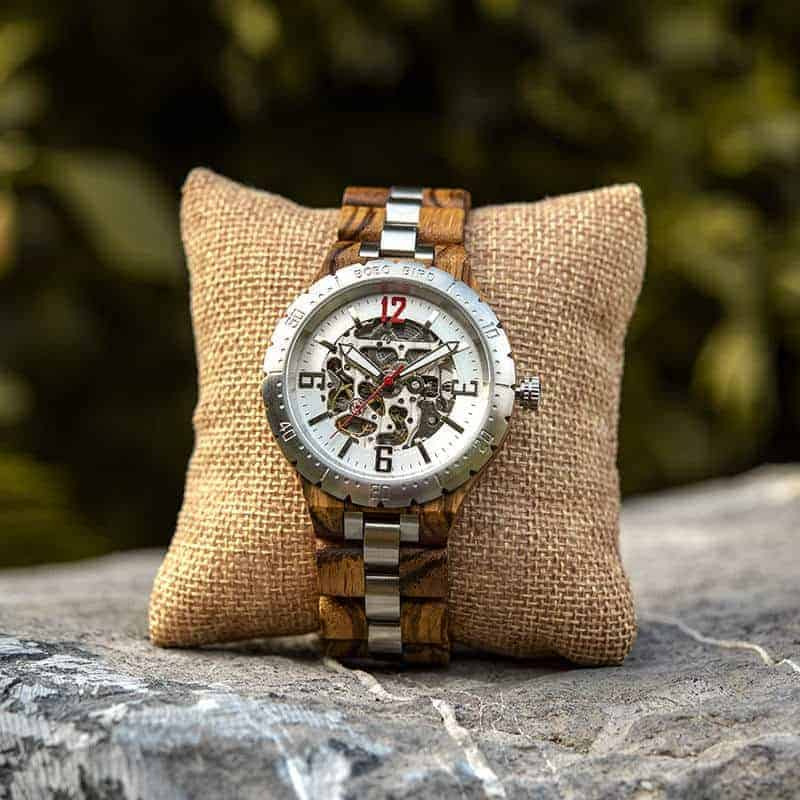 Automatic Mechanical Movement Wooden Watches Q29-2-7