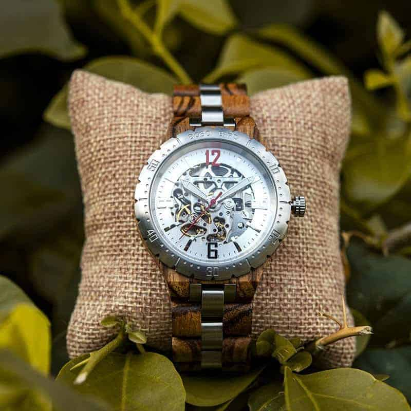 Automatic Mechanical Movement Wooden Watches Q29-2-9