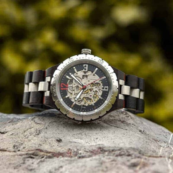 Automatic Mechanical Movement Wooden Watches Q29-1