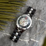 Automatic Mechanical Movement Wooden Watches Q29-7