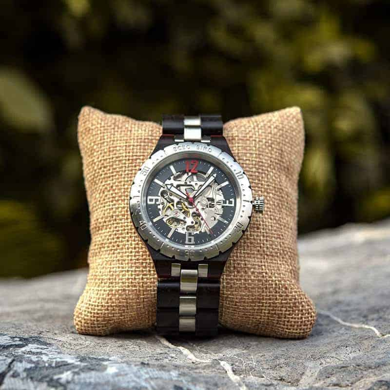 Automatic Mechanical Movement Wooden Watches Q29-8