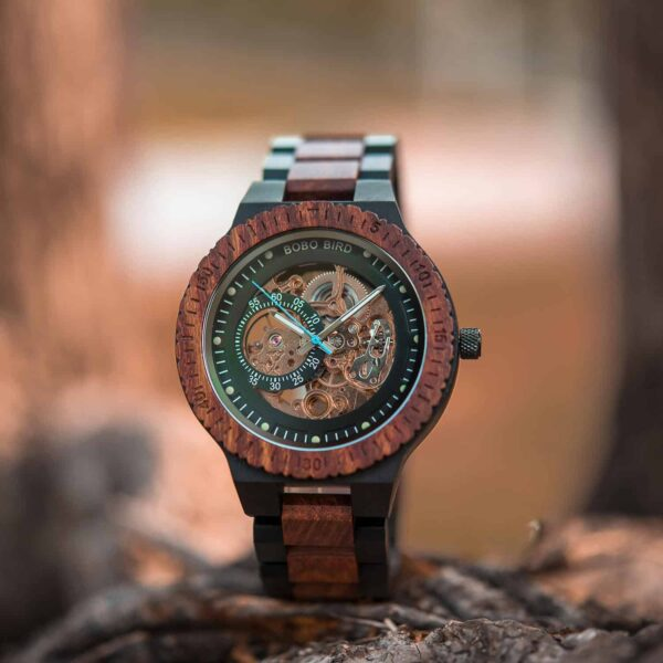 Best Automatic Mechanical Wood Watches for Men