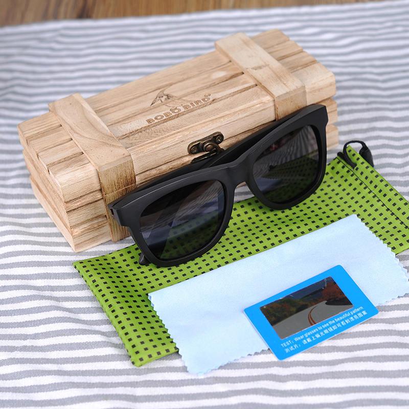 Classic Wooden Sunglasses AG005a 1