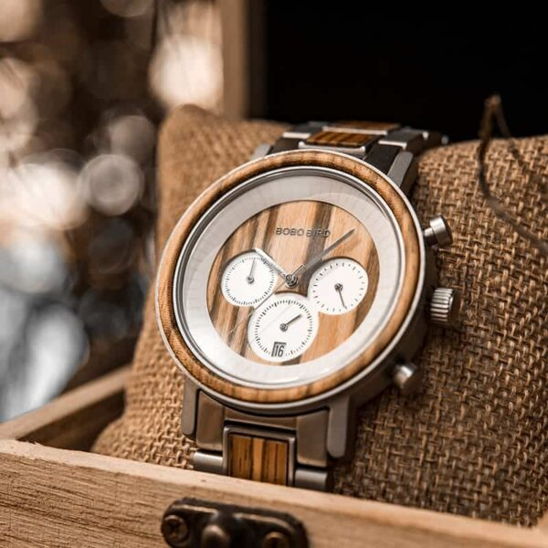 Best Gift Customized Wooden Watches for Men R01-3