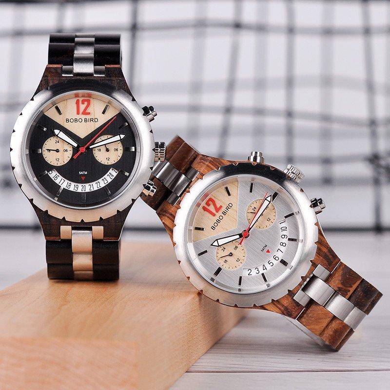 DSCWooden chronograph watches Q28 2 jpg