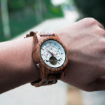 Luxury Mechanical Multifunctional Business Wooden Watches Q27-2-11