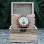 Luxury Mechanical Multifunctional Business Wooden Watches Q27-2-7