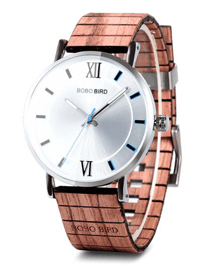 Lovers' Gifts Timepieces Luxury Metal Strap Quartz Wooden Watches
