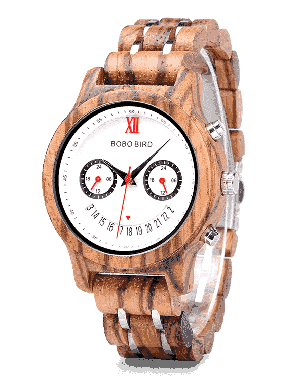Best Gift Smiley Face Couple Wooden Watches