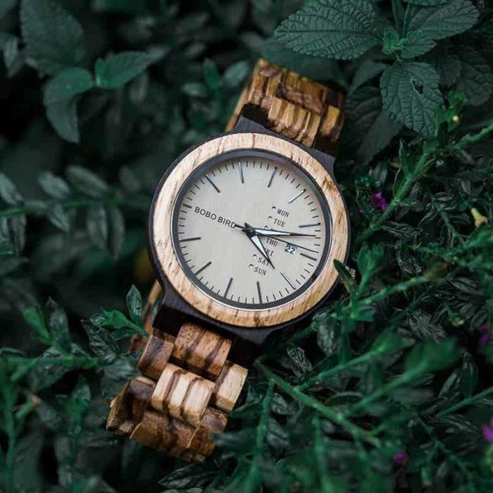 bobo bird wooden watches for menSunset O26-1