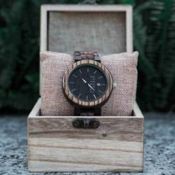 Personalized Gifts For Him BOBO BIRD Wooden Watches - Sunset O26-2