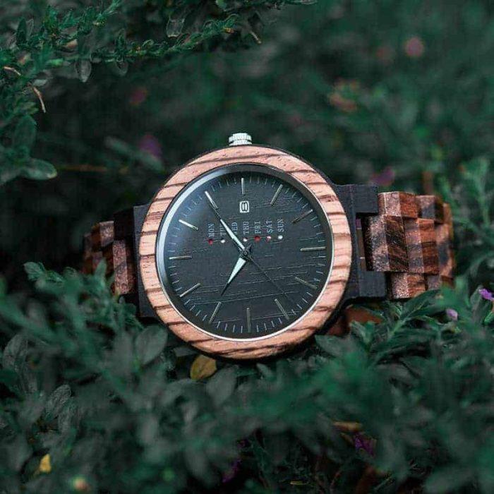 bobo bird wooden watches for men Sunset O26-2