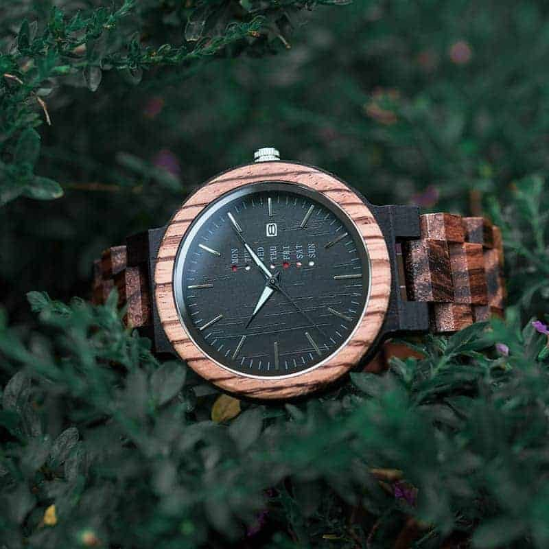 bobo bird wooden watches for men Sunset O26-2