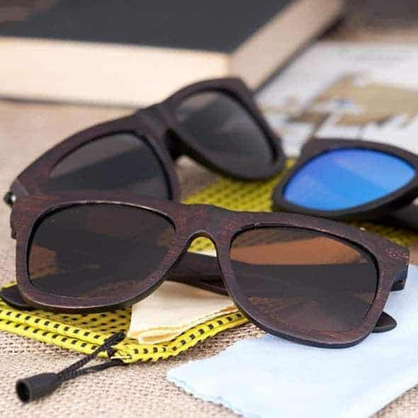 Wooden Sunglasses AG005b 4