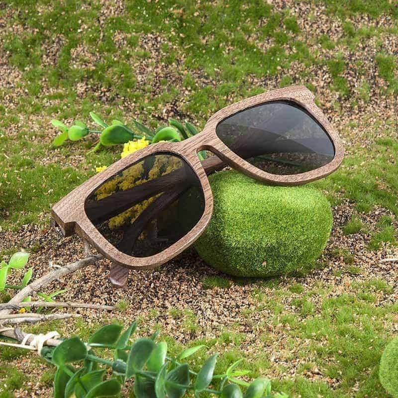 Wooden Sunglasses AG010a 2