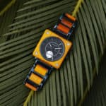 Wooden Watches for Men Luxury Stainless Steel & Natural Koa Wooden Chronograph watches R14-3