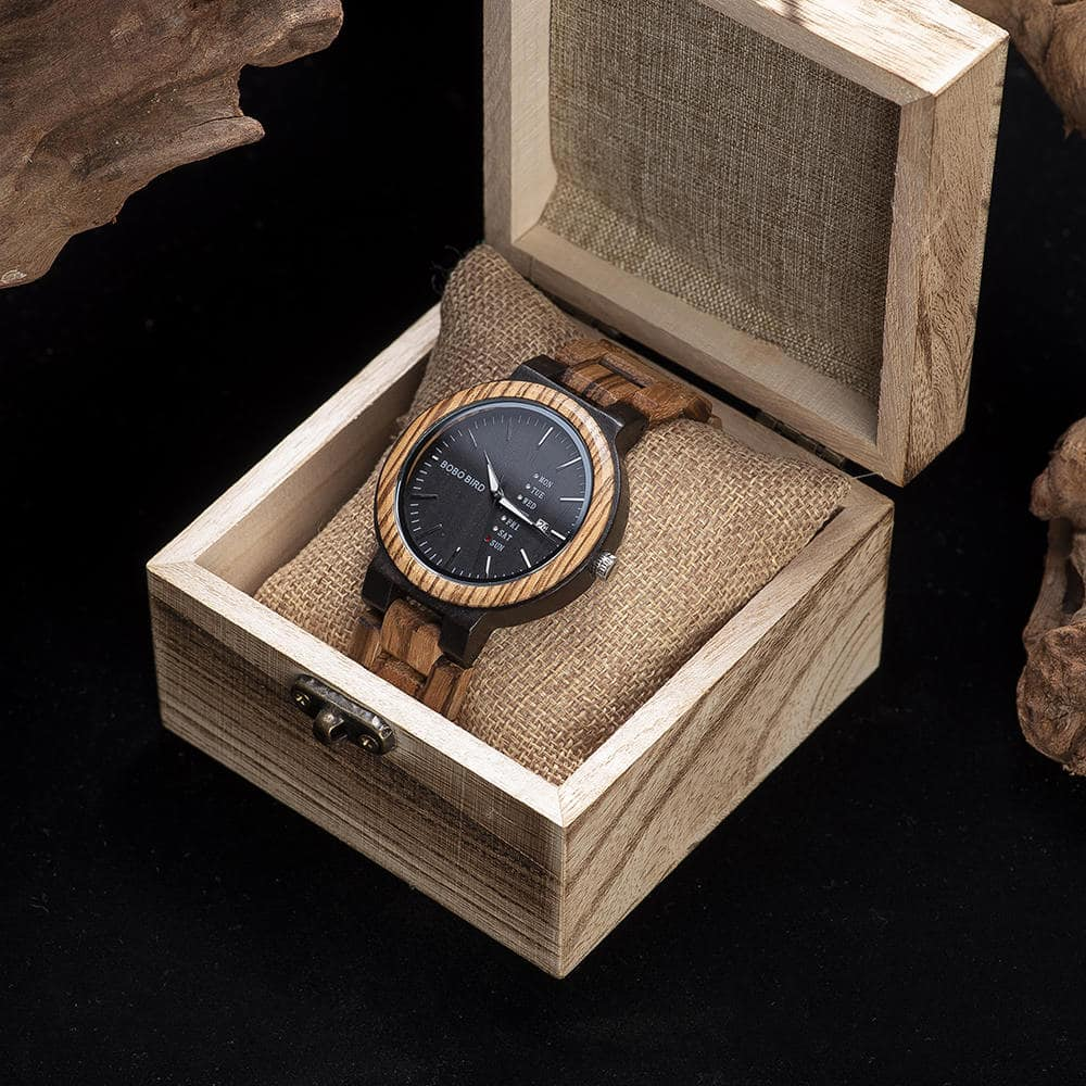 wood watches O26 2 4