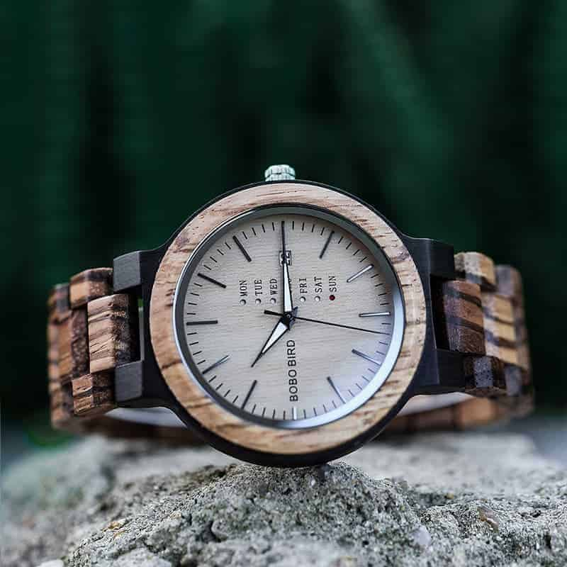 wooden watches for men Sunset O26-1