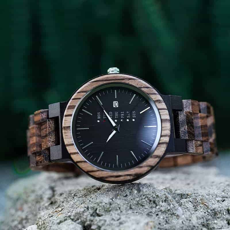 wooden watches for men Sunset O26-2