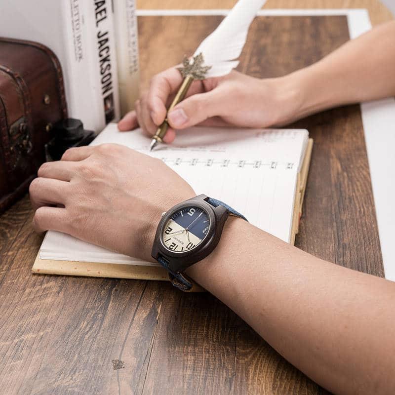 Couples wood wrist watch 4