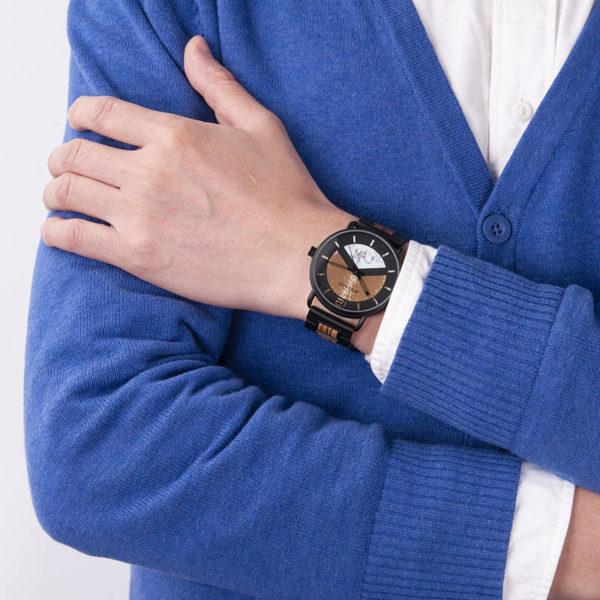Fashion Stainless Steel Ebony Watch R30-3