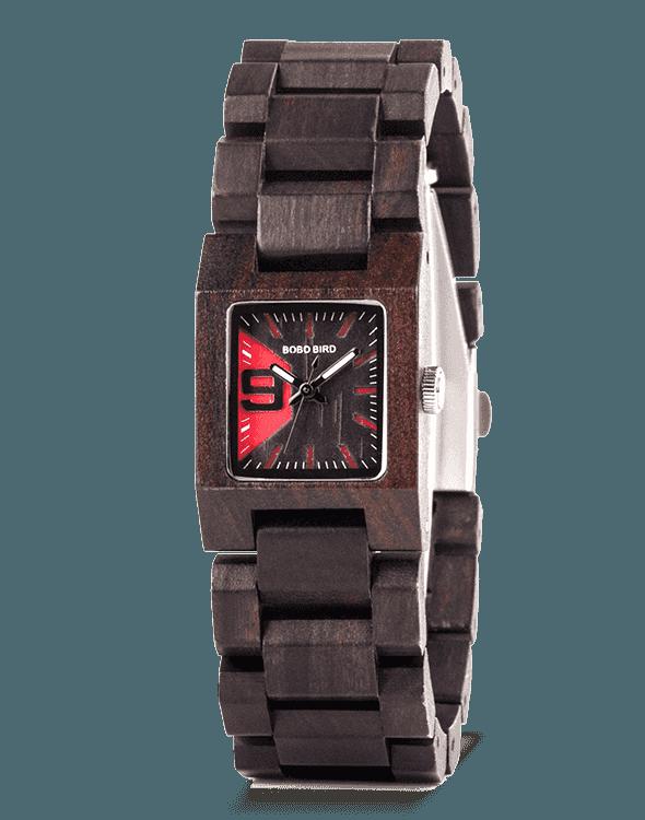 Ebony Women Wood Watch