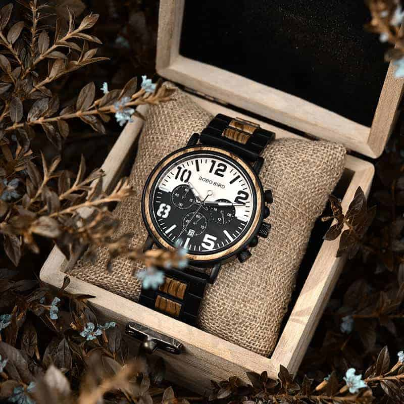 Wooden Watches for Men Twilight R25-1-11