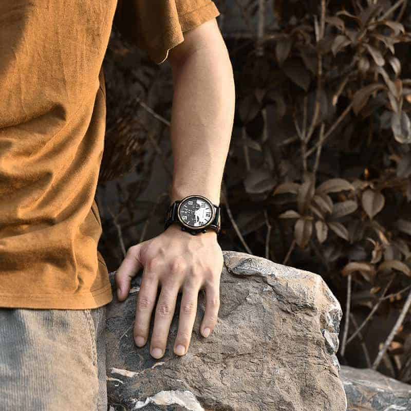 Wooden Watches for Men Twilight R25-1-6