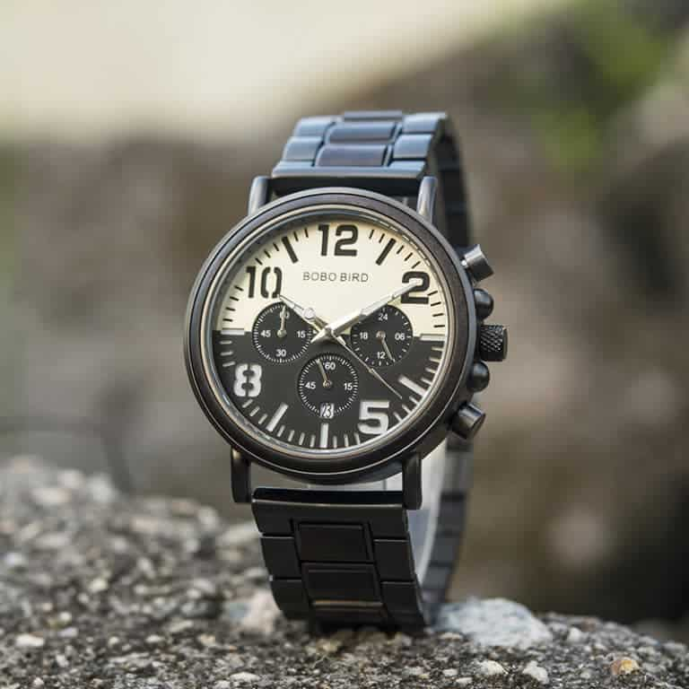 Wooden Watches for Men Twilight Ebony R25-2