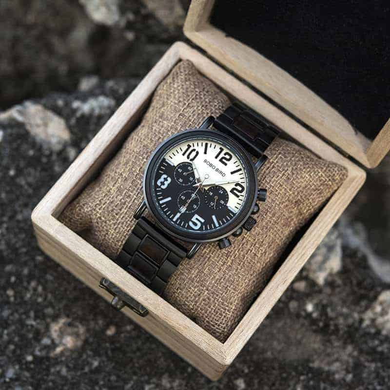 Wooden Watches for Men Twilight R25-2-6