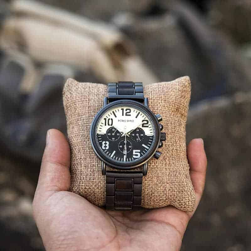 Wooden Watches for Men Twilight R25-2-7