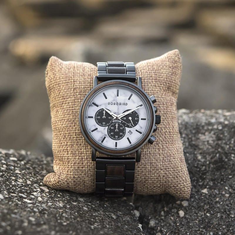 wooden watches for men Aurora P09-5-11