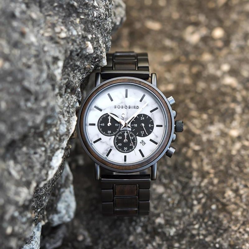 wooden watches for men Aurora P09-5-12