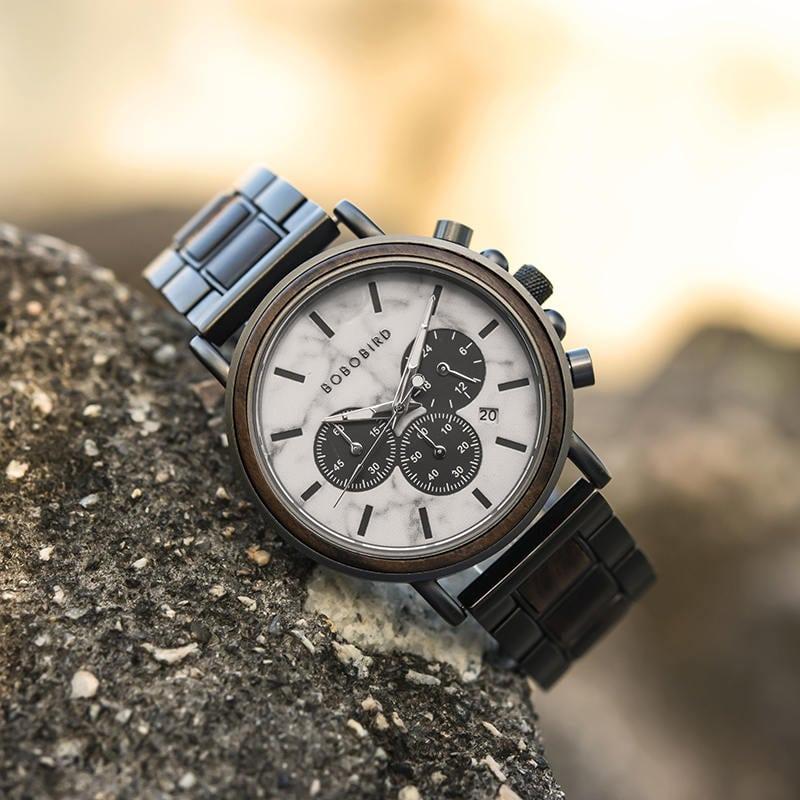 wooden watches for men Aurora P09 5 2