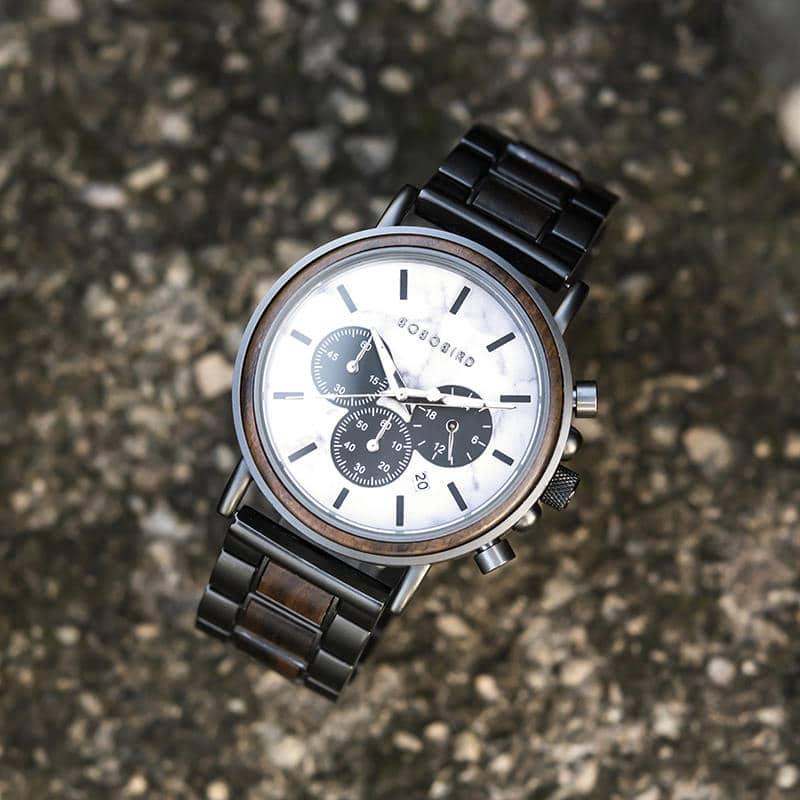 wooden watches for men Aurora P09-5-3